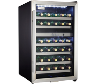 Danby Designer 38 Bottle Wine Cooler - DWC114BLSDD