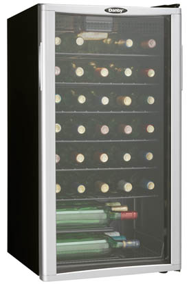 Danby 35 Bottle Wine Cooler - DWC350BLPA