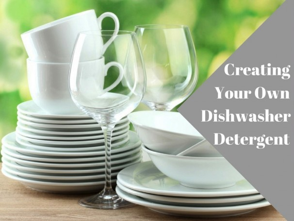 Creating your own dishwasher detergent